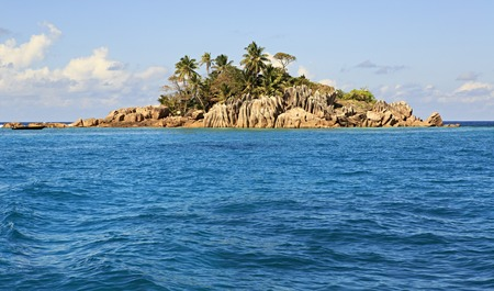 ladigue: Beautiful St. Pierre Island in the Indian Ocean.