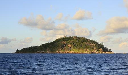 argent: Beautiful Praslin Island in the Indian Ocean. Stock Photo