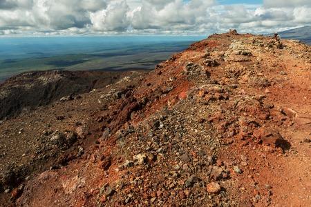 North Breakthrough Great Tolbachik Fissure Eruption 1975, Kamchatka