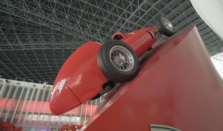 Abu Dhabi, UAE - April 04, 2018: Ferrari World Abu Dhabi on Yas Island