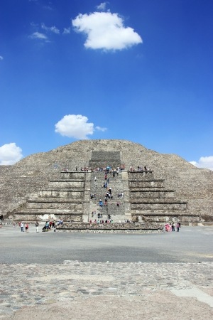 Archeologycal ruine in Teotihuacan, Mexico