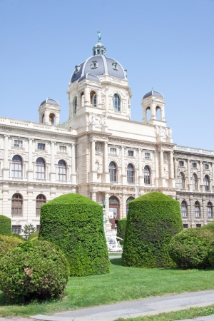 Facade of the Museum of Natural History, Wien, Austria