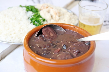 Typical brazilian dish, feijoada