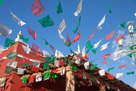 straat feest: Mexicaanse decoratie voor traditionele viering
