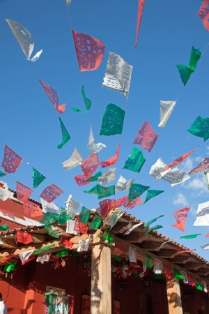 Mexican decoration for tradional celebration photo