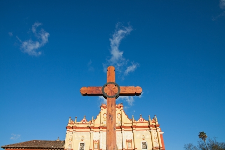 catholicism: San cristobal Cathedral in Chiapas, Mexico