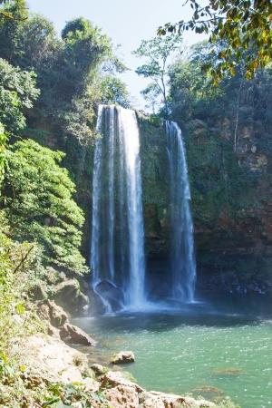 The Misol-Ha waterfalls in Chiapas, Mexico Reklamní fotografie