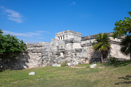 Mayan tuins in Tulum, Mexico