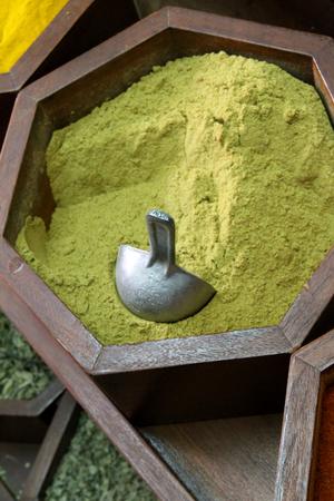 souk: Cumin dust in a souk