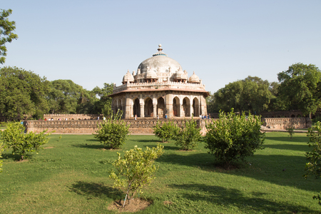 mughal architecture: Isa Khan Tomb Enclosure, Humayuns Tomb Complex, Delhi, India Editorial