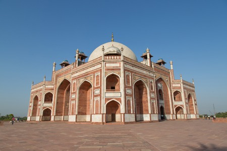 mughal architecture: Humayuns Tomb, New Delhi, India Editorial