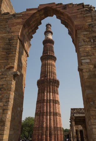 mughal architecture: Qutub Minar complex, the tallest minaret in India