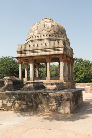 archaeological: Archaeological building at Mehrauli Archaeological Park, New Delhi