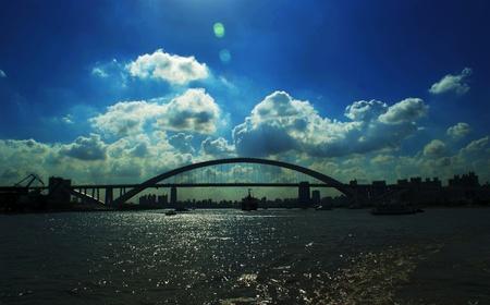 huangpu: In Huangpu Rivers bridge