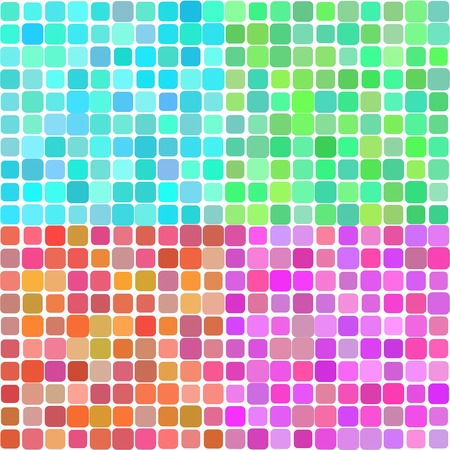 macrocosm: Set of four color technical banners Vector 1