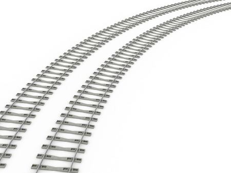 railroad crossing: Railway track lines  Raster  iron 7