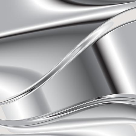 metallic background: Elegant 3d metallic background, vector. 33