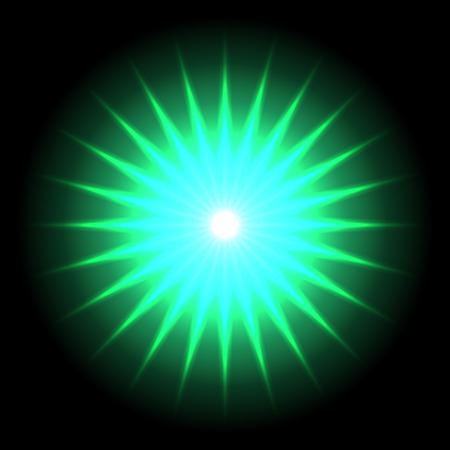flare: Lens flare vector background  Illustration