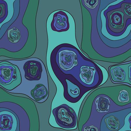 microcosm: Abstract seamless desktop microcosm Vector Image 5
