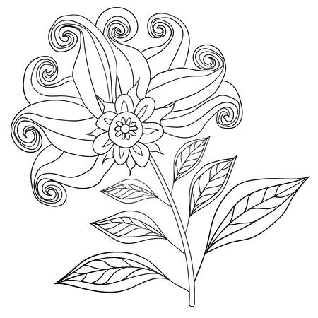 background herfst: Autumn Background design. VECTOR flower yellow 1