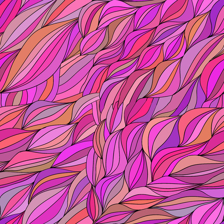 clots: vector pattern of the waves of hair 7