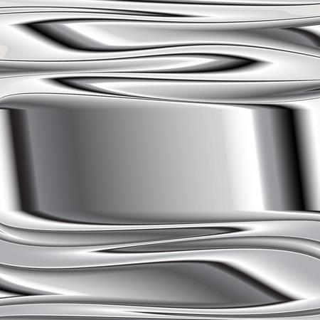Metal texture background. Vector image still 7