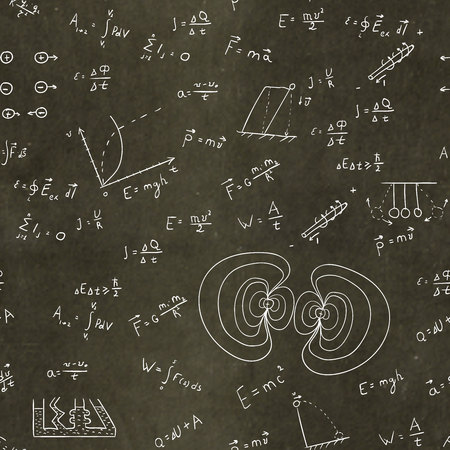multiply: The multiplication table and childrens drawings on a blackboard 1