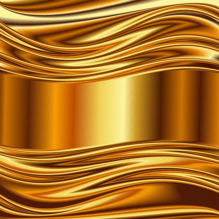 brushed aluminum: Metal background, gold brushed metallic texture plate.