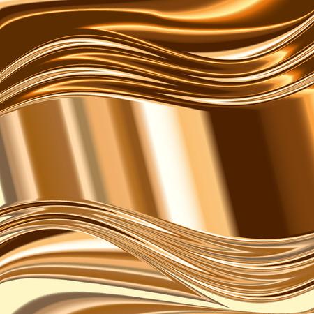 metallic background: Metal background, gold brushed metallic texture plate.
