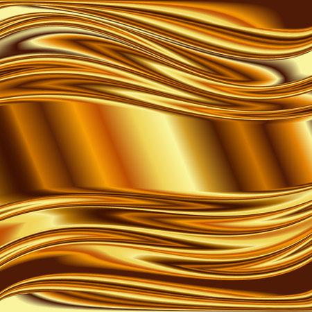 metallic: Metal background, gold brushed metallic texture plate.