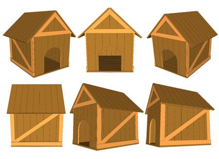 crisper: set wooden boxes