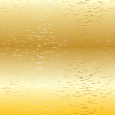 brass plate: Golden background Vector metal scratch texture 6
