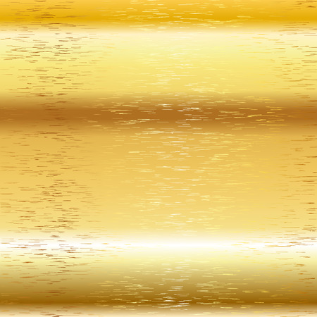 scratch: Golden background Vector metal scratch texture 10