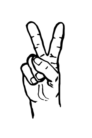 hand sign: human hands:hands up ,palm hands,rock on sign Victory