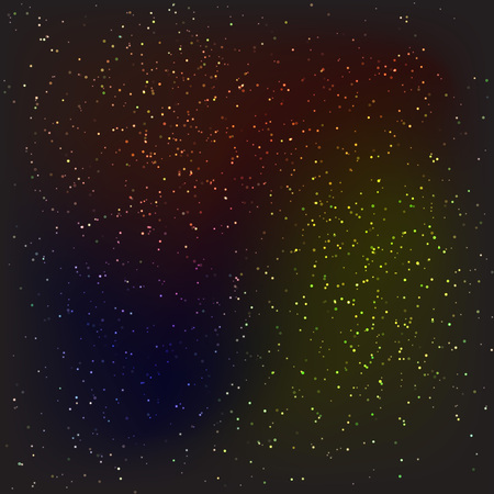 saturation: Vector Dark night stars or snow texture background. Winter Christmas and space theme. Editable in layers a color, saturation and amount to make a different variety 10