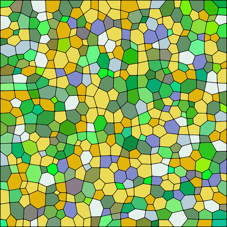 Vector colorful stained glass texture abstact background 5
