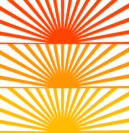 kamikaze: Vector Flat Red set sun sunrise sunset