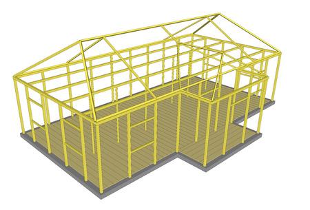 materiales de construccion: Vector ilustración 3d herramientas y materiales de construcción Proceso de construcción de la grúa excavadora bulldozer piedra de la arena del tractor de cemento 4 Vectores