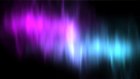 polaris: Vector aurora borealis. Vector northern lights. Aurora polaris