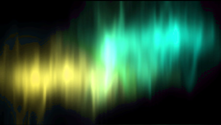 aurora borealis: Vector aurora borealis. Vector northern lights. Aurora polaris