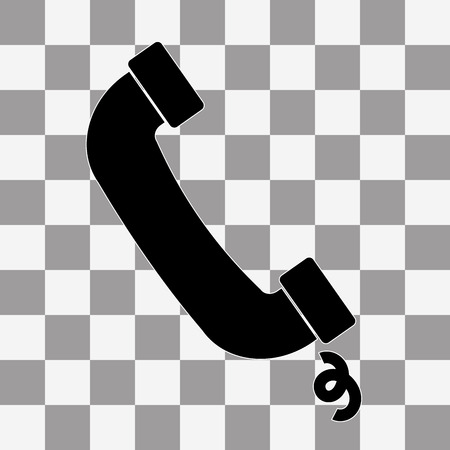 call icon: call Icon Vector on a transparent background