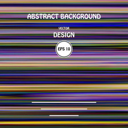 malfunction: Vector image color glitch abstract background. Chaos aesthetics of signal error. Digital decay.