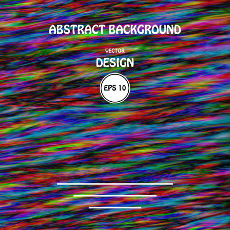 aesthetics: Vector image color glitch abstract background. Chaos aesthetics of signal error. Digital decay.