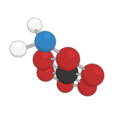 Science background with molecule on white Vector abstract