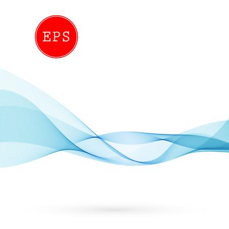 Vector Abstract wave background for brochure, website, design. Spectrum wave color. Smoky color wave. Wavy line color Vectores