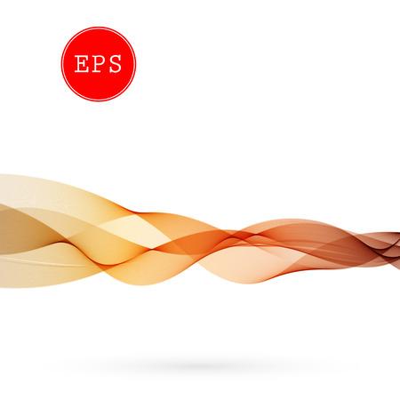 Vector Abstract wave background for brochure, website, design. Spectrum wave color. Smoky color wave. Wavy line color Illustration