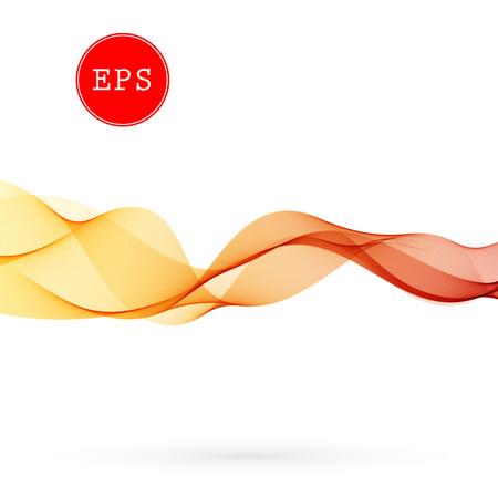 Vector Abstract wave background for brochure, website, design. Spectrum wave color. Smoky color wave. Wavy line color Иллюстрация