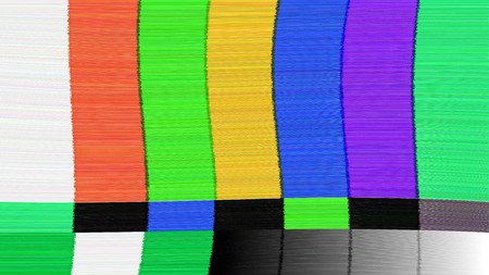 no signal: Vector background Distorted glitch TV. Descendant network. Digilal No signal.