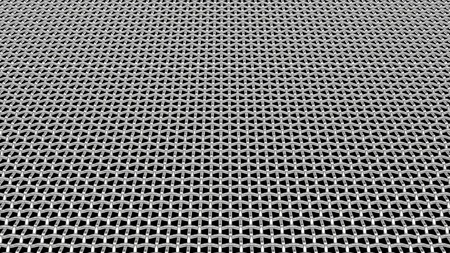 Abstract metal grid background 3D render