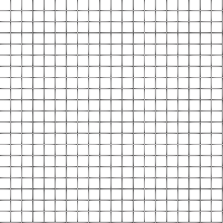 Metal grid seamless on white Vector